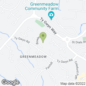 Map of BEAUTIFUL ENVY in Greenmeadow, Cwmbran, gwent