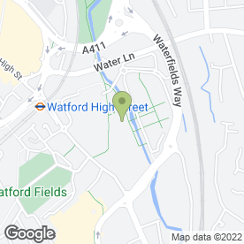 Map of Tesco Extra in Watford, hertfordshire
