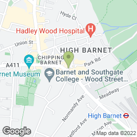 Map of Domino's Pizza in Barnet, hertfordshire