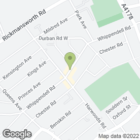 Map of MT Laptop Repairs in Watford, hertfordshire