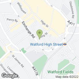 Map of Sedgwick Kelly LLP in Watford, hertfordshire