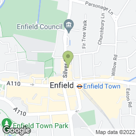 Map of Chimichanga in ENFIELD, middlesex