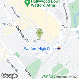 Map of Lucketts Of Watford in Watford, hertfordshire