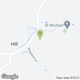 Map of Mulberry Landscaping & Planting in Hill, Berkeley, gloucestershire