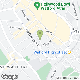 Map of PENMAN JOHNSON in Watford, hertfordshire