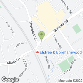 Map of Best-In Kitchens Ltd in Borehamwood, hertfordshire