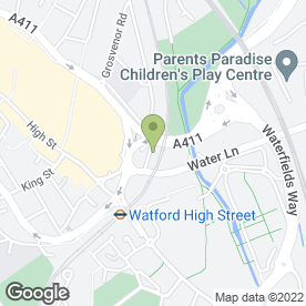Map of AFG Auto Ltd in Watford, hertfordshire