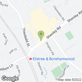 Map of learndirect centres in Borehamwood, hertfordshire