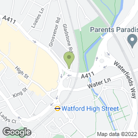 Map of Bestway Environmental in Watford, hertfordshire