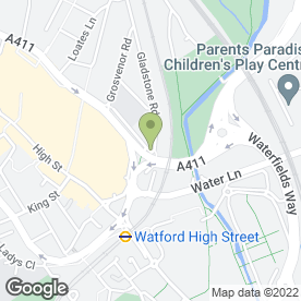 Map of Bestway-Environmental in Watford, hertfordshire