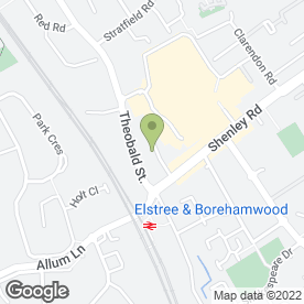 Map of Digital Voice Announcement Systems in Borehamwood, hertfordshire