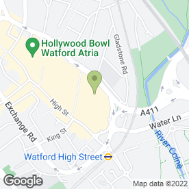 Map of BB's Coffee & Muffins in Watford, hertfordshire