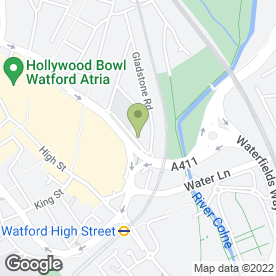 Map of Central Primary School & Nursery in Watford, hertfordshire