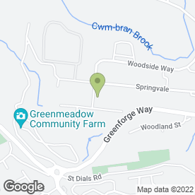 Map of Fike Safety Technology Ltd in Cwmbran, gwent