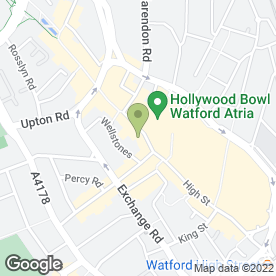 Map of Revolution Vodka Bar in Watford, hertfordshire