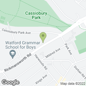 Map of Watford Maths & Physics Centre in Watford, hertfordshire