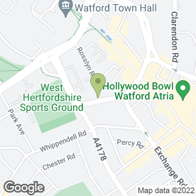 Map of Surveyors Corporation Ltd in Watford, hertfordshire