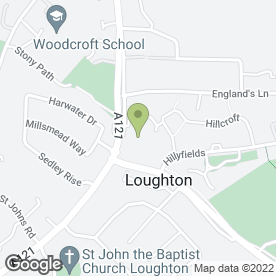 Map of Loughton Metals in Loughton, essex