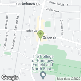 Map of Wendys Florist in Enfield, middlesex