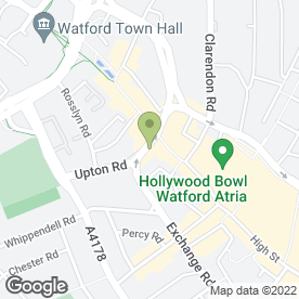 Map of ARKrights Solicitors in Watford, hertfordshire
