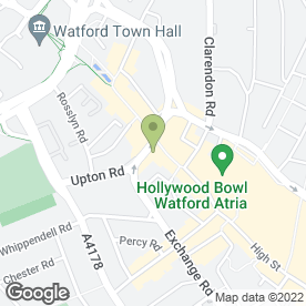Map of Pitman Training Watford Centre in Watford, hertfordshire