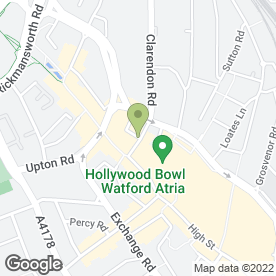 Map of Costa Coffee in Watford, hertfordshire