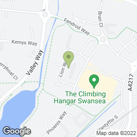 Map of Redwood Joinery in Swansea Enterprise Park, Swansea, west glamorgan