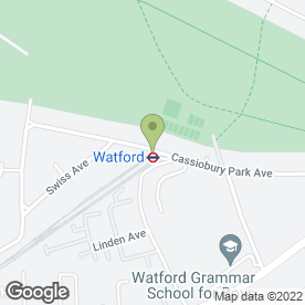 Map of The Short Cut in Watford, hertfordshire