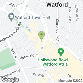 Map of Barracuda Coffee Co in Watford, hertfordshire