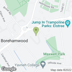 Map of Parsmedix Ltd in Borehamwood, hertfordshire