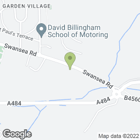 Map of Raw2K Partfinder in Swansea, west glamorgan