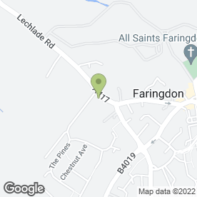 Map of AUNTIES EMPORIUM FARINGDON in Faringdon, oxfordshire