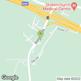 Map of Cornish Bakehouse UK Ltd in Stokenchurch, High Wycombe, buckinghamshire