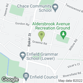 Map of Pretty Cool Customers in Enfield, middlesex