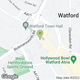 Map of Omni Security Services in Watford, hertfordshire