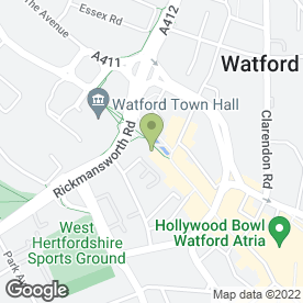 Map of GEM in Watford, hertfordshire