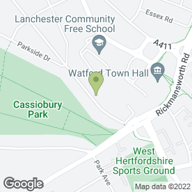 Map of Gas & Central Heating Services in Watford, hertfordshire