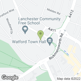 Map of The Room Health & Skin Care in Peace Prospect, Watford, hertfordshire