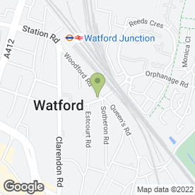 Map of Escort Arms in Watford, hertfordshire