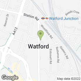 Map of Michael Charles Chartered Surveyors in Watford, hertfordshire