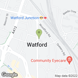 Map of Regus - Office Rental in Watford, hertfordshire