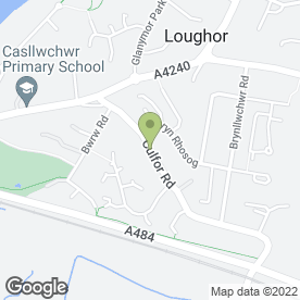 Map of MAP Carpentry Specialist in Loughor, Swansea, west glamorgan