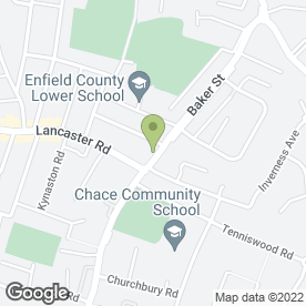 Map of Peter Bacon in Enfield, middlesex