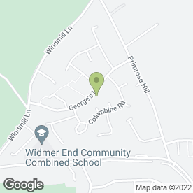 Map of Zest Beauty in Widmer End, High Wycombe, buckinghamshire