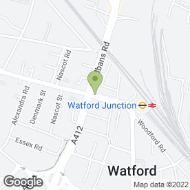 Map of HM Law Costs Draftsmen in Watford, hertfordshire