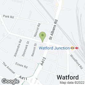 Map of Visual Sound Systems in Watford, hertfordshire