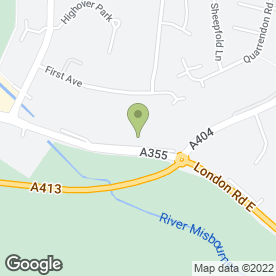 Map of Beechlands Carpentry in Amersham, buckinghamshire