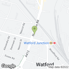 Map of Murphy & Co in Watford, hertfordshire