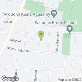 Map of 1st Class Garden Service in Enfield, middlesex