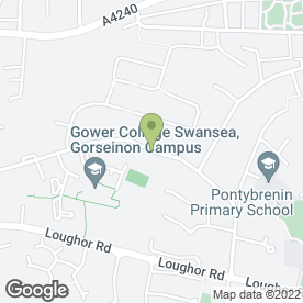 Map of Eden Events in Gorseinon, Swansea, west glamorgan
